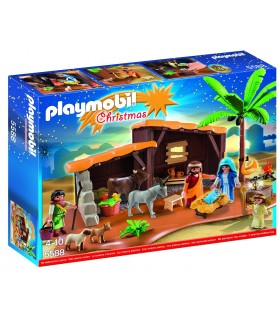 BELEN CON ESTABLO PLAYMOBIL