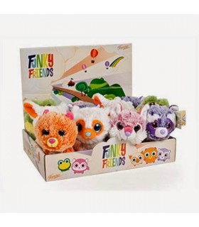 PELUCHES FUNKY FRIENDS SURTIDOS 15 CM
