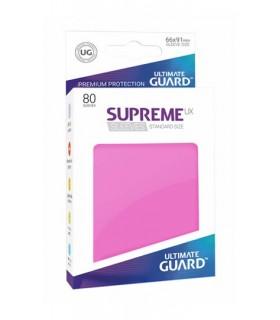 FUNDAS SUPREME UX TAMAÑO STANDAR FUCSIA 80 U
