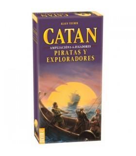 CATAN PIRATAS Y EXPLORADORES EXP. 5 Y 6 JUG