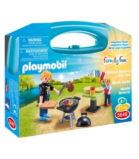 MALETIN BARBACOA PLAYMOBIL