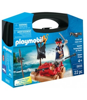 MALETIN PIRATAS PLAYMOBIL