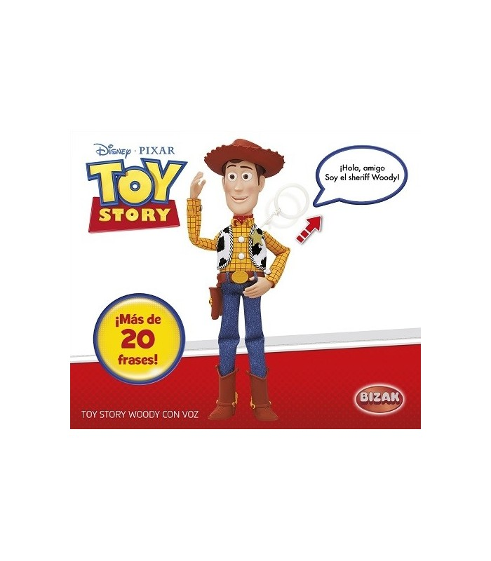 TOY STORY WOODY CON VOZ - Dispersa Juguetes 50f16196e26