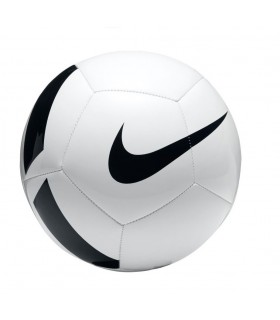 BALON NIKE PITCH TEAM 5 BLANCO Y NEGRO