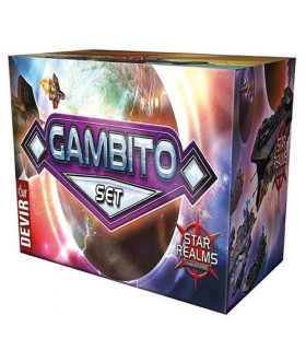 DISPLAY 24 SOBRES STAR REALMS GAMBITO