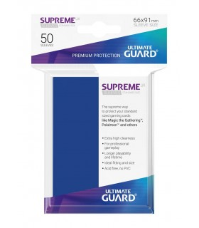 FUNDA METALIZADA AZUL 50 U. ULTIMATE GUARD