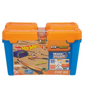 HOT WHEELS TRACK AND BUILDER CAJA DE ACROBACIAS
