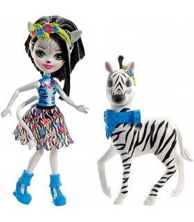 ENCHANTIMALS ZELENA ZEBRA + HOOFETTE