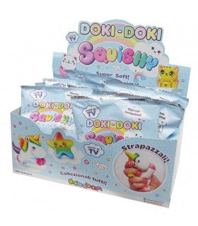 DISPLAY 12 SOBRES SQUISHY DOKI-DOKI