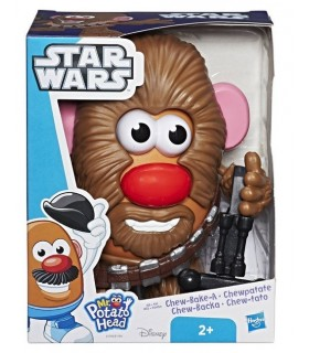 MR POTATO HAN SOLO Y CHEWBACCA