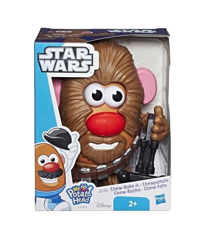 MR POTATO HAN SOLO Y CHEWBACCA HASBRO