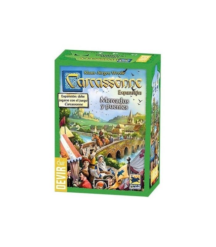 Carcassonne: Mercados y Puentes.