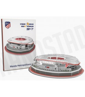 PUZZLE 3D MINI ESTADIO WANDA METROPOLITANO AT. MADRID 2019