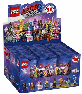 DISPLAY 60 SOBRES MINIFIGURAS LEGO MOVIE 2