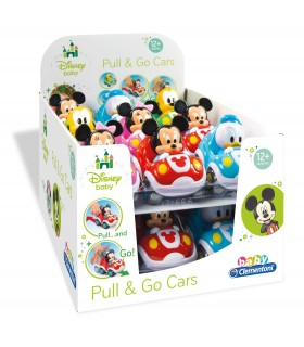 EXP. 18 COCHE PULL BACK DISNEY BABIES