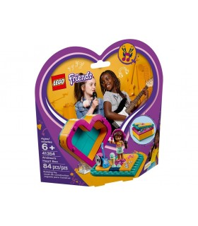 LEGO FRIENDS CAJA CORAZON DE ANDREA