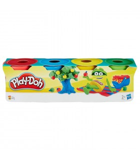 PLAYDOH MINI PACK 4 BOTES