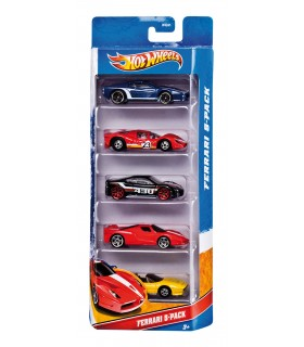 Hot Wheels set de 5 vehiculos