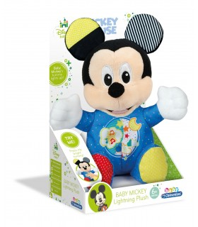 BABY MICKEY PELUCHE LUCES Y SONIDO