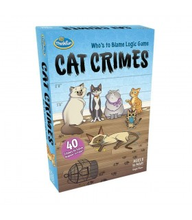 CAT CRIME THINK FUN CASTELLANO