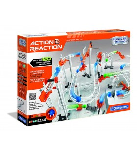 ACTION & REACTION CRAZY DOMINO 120 COMPONENTES MODULARES