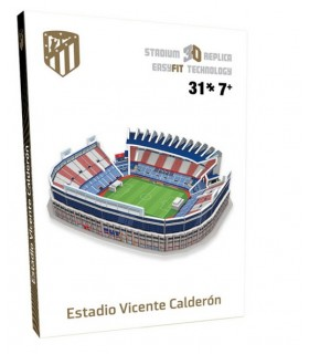 PUZZLE 3D MINI ESTADIO VICENTE CALDERON 2019