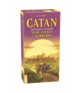 Catán: Mercaderes y Barbaros exp. 5 y 6 jugadores
