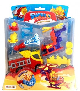 BLISTER MISION 5: FIRE STRIKE SUPERZINGS (BOMBEROS)