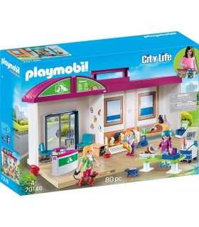CLINICA VETERINARIA MALETIN PLAYMOBIL