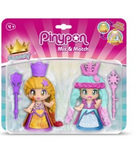 BLISTER 2 PINYPON QUEENS PRINCESAS