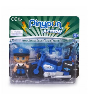 PINYPON ACTION MOTO DE POLICIA