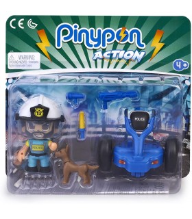 PINYPON ACTION SEGWAY CON POLICIA