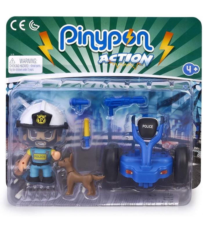 PINYPON ACTION SEGWAY CON POLICIA