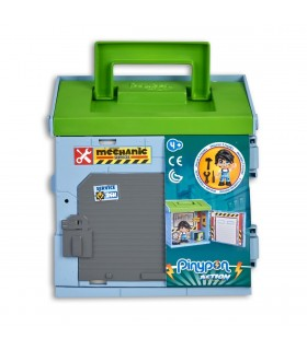 PINYPON ACTION BOX BOMBERO POLICIA O TALLER