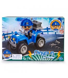PINYPON ACTION QUAD CON POLICIA