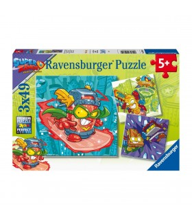 PUZZLE 3X49 SUPERZINGS RIVALS OF KABOOM