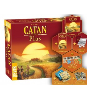 CATAN PLUS (REEDICIÓN)