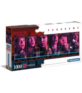 PUZZLE 1000 PANORAMA STRANGER THINGS