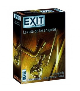 EXIT LA CASA DE LOS ENIGMAS