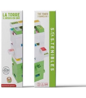 LA TORRE PLUS 3 JUEGOS EN 1 FSC 100%