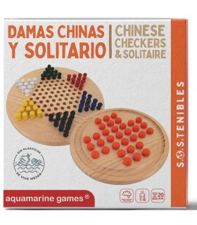 DAMAS CHINAS & SOLITARIO FSC 100%