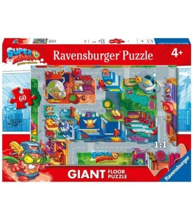 PUZZLE 60 PIEZAS SUPERZINGS GIANT FLOOR
