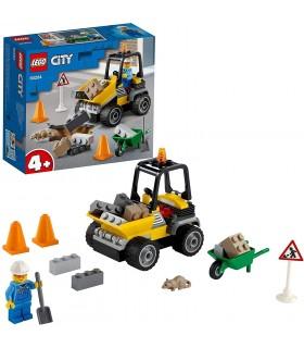 LEGO CITY VEHICULO DE OBRAS EN CARRETERA