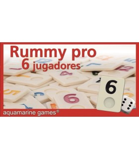 RUMMY pro 6 jugadores